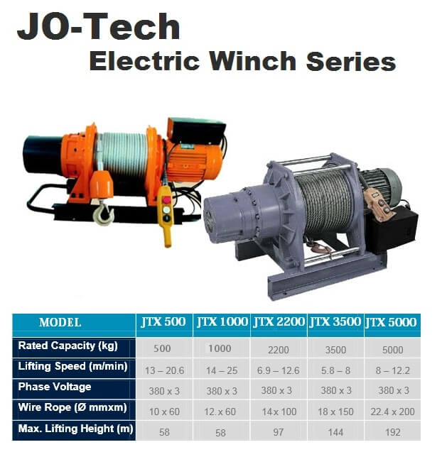 Jo-Tech Electric Winch